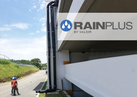 Un edificio del ITSE con sistema sifónico RAINPLUS